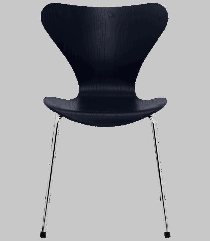 Serie 7 stol - sort
